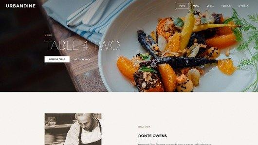 Weebly Sample Restaurant