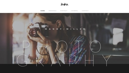 Weebly Sample photo business