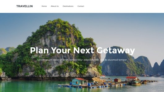 Weebly Sample Business page